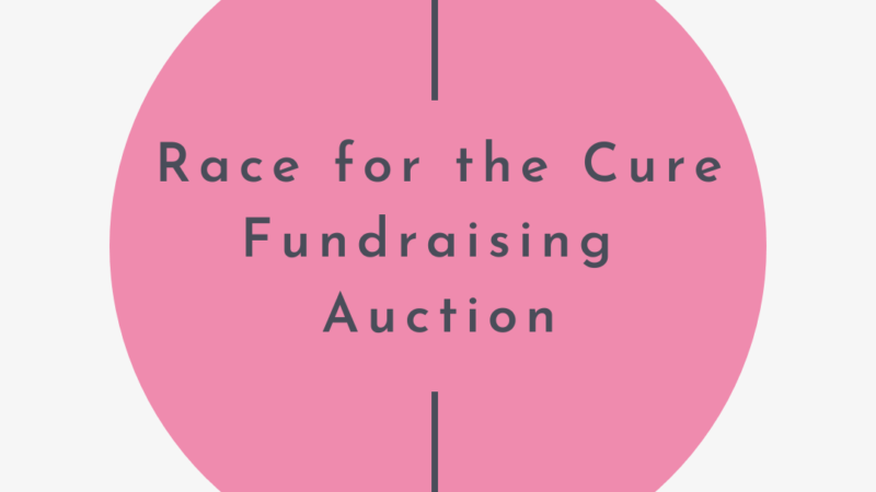Crafting Corner: Fundraising Auction for Breast Cancer