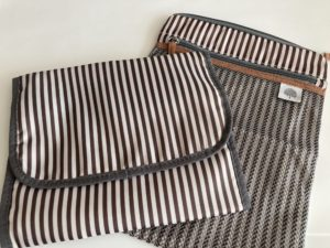 Waterproof Changing Pad & Wet Dry Bag by Parker Baby Co