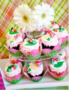 Bug Cupcakes Idea from Pizzazzerie