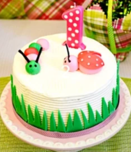 Ladybug Cake Idea from Pizzazzerie