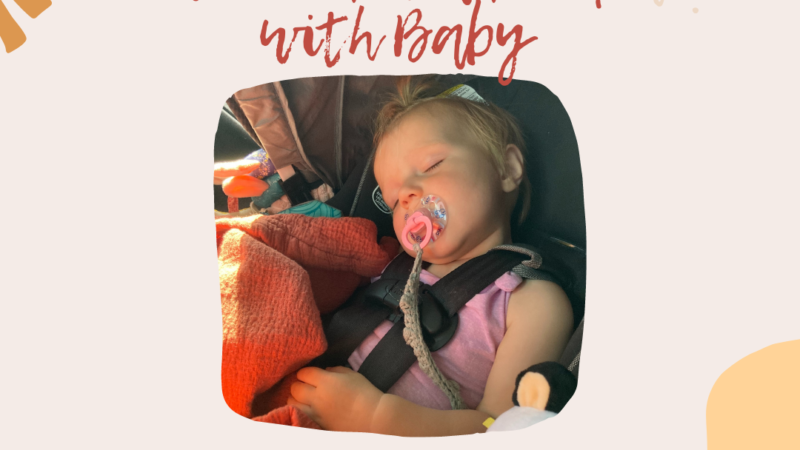 Weekend Road Trip with Baby Packing List